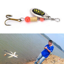 2PC Fishing Hard Lure Bait Leurre Peche Mepps Spoon Fishing Tackle Acesorios TSC