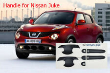 MATTE BLACK SET HANDLE COVER 6PC USE FOR NEW NISSAN JUKE HATCHBACK 2012-ON FIT