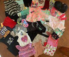 Girls Clothing Lot 40 Items Size 6/6X Sets Tops Leggings Dresses Skirt Shorts