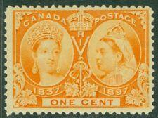 EDW1949SELL : CANADA 1897 Unitrade #51 VF, Mint Never Hinged. PO Fresh. Cat