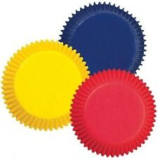 Baking Cups Primary Colors Red, Blue & Yellow 75 ct  from Wilton #987 - New