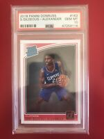 2018 Panini Donruss #162 Shai Gilgeous-Alexander Rated Rookie Card RC PSA 10🔥