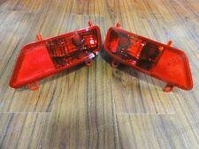 1Pair Rear Bumper Tail Fog Light Lamps for Peugeot 3008