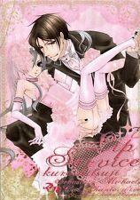 Black Butler Kuroshitsuji YAOI Doujinshi Dojinshi Comic Sebastian x Ciel Lip Ser