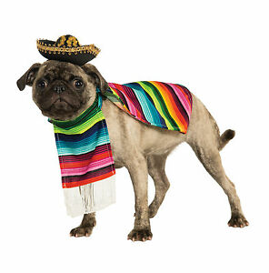 Rubie's Pet Shop- Mexican Serape Pet Costume(Free Shipping in USA)
