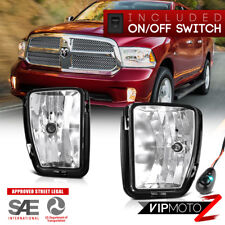 {Factory Style}13-18 Dodge Ram 1500 Pickup Bumper Fog Light Lamp+Switch Harness