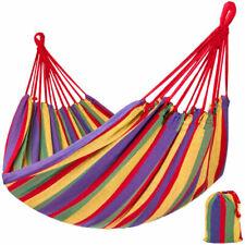 tectake 401540 Hamaca Colgante 150x300cm - Multicolor