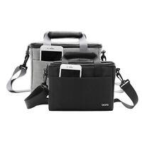 Black/gray DSLR Camera Case For Canon Nikon Sony Lens Pouch Bag