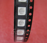 50 pcs SMD SMT 5050 BLUE Super bright LED lamp Bulb HIGH QUALITY