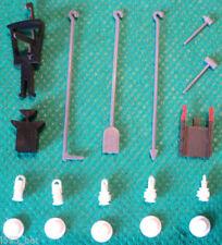 Artículos de escala 00 de plástico de color principal blanco para modelismo ferroviario