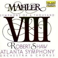 Atlanta Symp Orch/Shaw - Mahler: Symphony No. 8 - Symphony Of A Thousan (NEW CD)