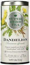 TEA ORGANIC DANDELION, Republic of Tea (36 bags) SuperHerb REMEDY PLANT, Vanilla