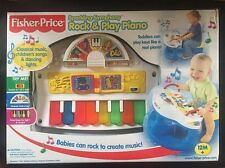 Fisher Price Sparkling Symphony Piano Rock & Play Lights Up 73547