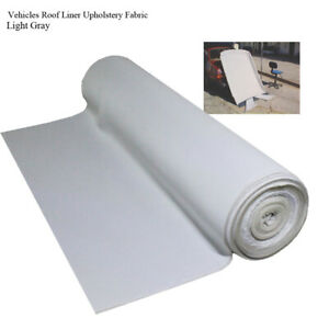 Vehicles Roof Lining Fabric Headliner Upholstery 1.5Mx1.2M Restores Renovate DIY