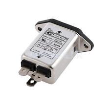 IEC 320 C14 Male Socket Panel Mount Power Line EMI Filter CW1D-10A-T