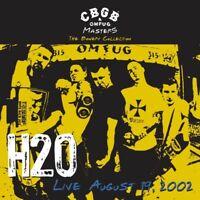 H2O - CBGB OMFUG MASTERS: LIVE 19.08.2002  VINYL LP NEU
