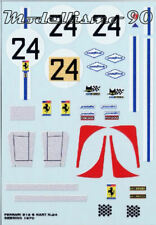 Decal sheet 1/43 Ferrari 512S Spider NART #24 12 Hours Sebring 1970 NEW