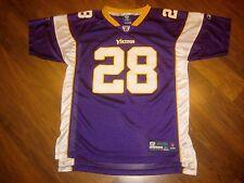 Reebok MINNESOTA VIKINGS Adrian Peterson YOUTH XL Football NFL Jersey XS SMALL