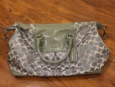 Pre-owned *Coach* Blue And Pink Handbag With Shoulder Strap