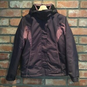 Parallel ski snow jacket size 8 with removable hood