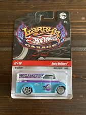 HOT WHEELS Dairy Delivery Larry's Garage Real Riders Teal White