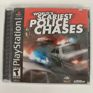 World's Scariest Police Chases PlayStation 1 PS1 2001 Factory Sealed
