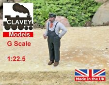 More details for g scale driver sam hand painted garden railway people 1:22.5 figure free p&p