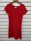 Girls Scout  Ro Cream or Red Sweater Dress Size 7