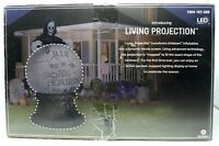 Gemmy 8.5 ft. Living Projection Reaper Globe Halloween Airblown Inflatable