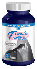 Female Sexual Stimulant Pills - Female Fantasy 742mg - Horny Goat Weed 1B