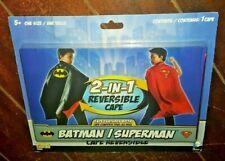 DC Comics Batman/Superman 2-in-1 Reversible Cape *One Size*