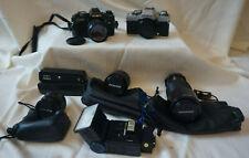 Minolta X-700 & XG-M Cameras with Lenses and Accessories