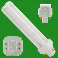4x 26w G24q-3 4 Broches 4000k Basse Energie Cfl Ampoule Blanc Froid Pl Api Lampe