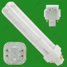 4x 26w g24q-3, 4 pin, 3500k CFL Bajo consumo bombilla Blanco Frío PL PLC Lámpara