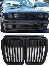 FRONT GRILLS BLACK MATT FOR BMW E30 82-94 SPORT SPOILER BODY KIT NEW