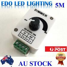 DC 12V 16A dimmer switch controller 3528 5050 SMD LED Strips for single colour