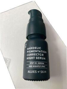 Allies of skin Mandelic Pigmentation corrector night serum 8 ml/.3 oz