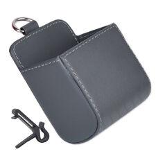 Grau Handytasche Auto Handy Behälter Ablagefach Lüftung Halterung Universal NEU