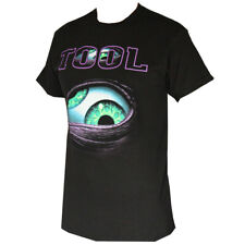 TOOL Metal Rock Band Eye Design  Men's T-Shirts Black