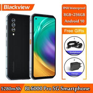 "Original 6.36"" Blackview BL6000 Pro 5G Rugged Smartphone 8GB RAM 256GB 5280mAh"