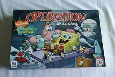 Nickelodeon Sponge Bob Squarepants Edition OPERATION Game