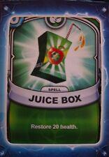 Skylanders Battlecast Collector's Card Spell Juice Box