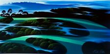 "Eyvind Earle ""Summer's Twilight "" Hand signed numbered Serigraph 1998 US Artist"