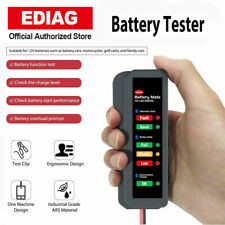 Universal 12V Car Battery Tester Digital Analyzer Auto LED Motor Alternator