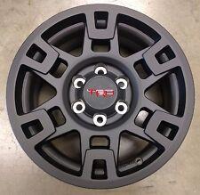 "17"" Black TRD Pro Wheels Toyota Tacoma, 4Runner, & FJ Cruiser 17X7  6 Lug"