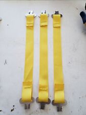 Bullard Hard Hat Liner Suspension One Set Of 3 Yellow Straps And Clips