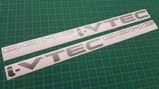 Civic Accord K20 K24 Series i-VTEC DOHC side decals stickers graphics  Prelude