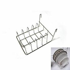 Wall Space Net Dish Drying Hook Rack Kitchen Organizer Sink Storage Holder New