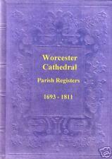 Genealogy - Worcester Cathedral Parish Registers