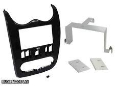 Dacia Logan 2010-2012 Black Double Din Car Stereo Fitting Kit Facia CT23DC01